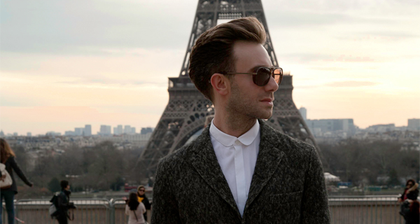 IT'S ALWAYS THE RIGHT TIME IN PARIS FOR THE EIFFEL TOWER AND COMME DES GARÇONS