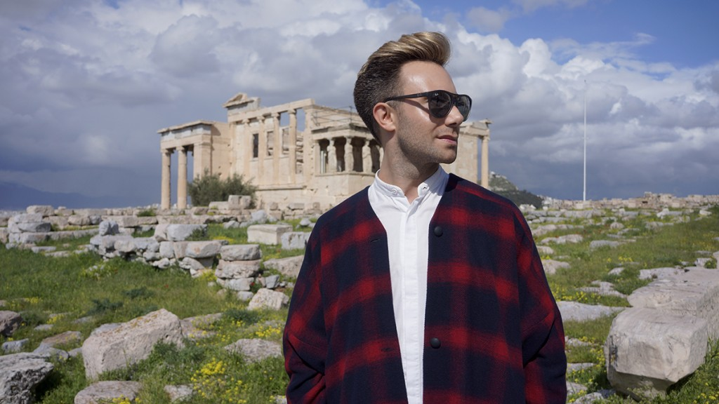 Anthony in Acropolis - 1