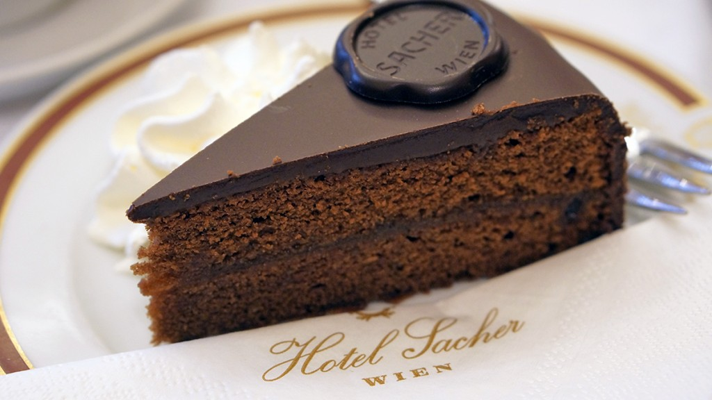 Best Sacher Cake In Vienna