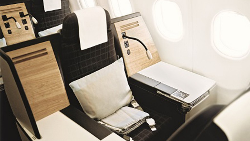 Swiss Airlines Business Class - 2