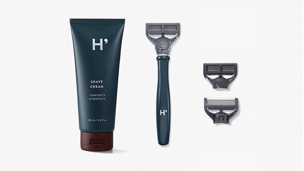 Harry's shaver and shave cream - 1
