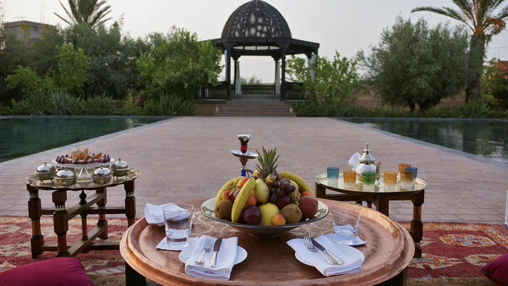 Tea at Le Selman Hotel Marrakech Morocco - 4