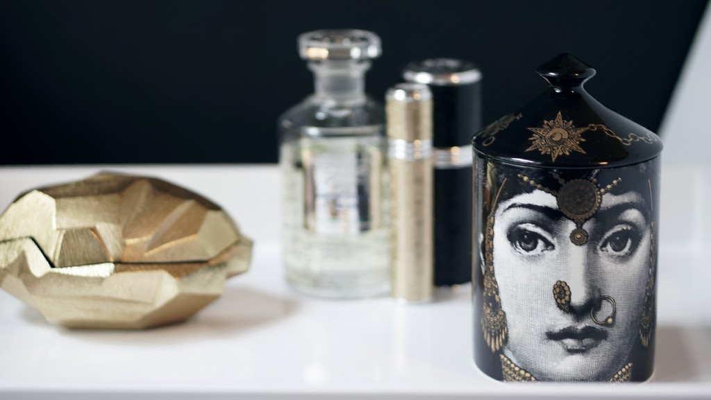 Fornasetti Candle L'eclaireur